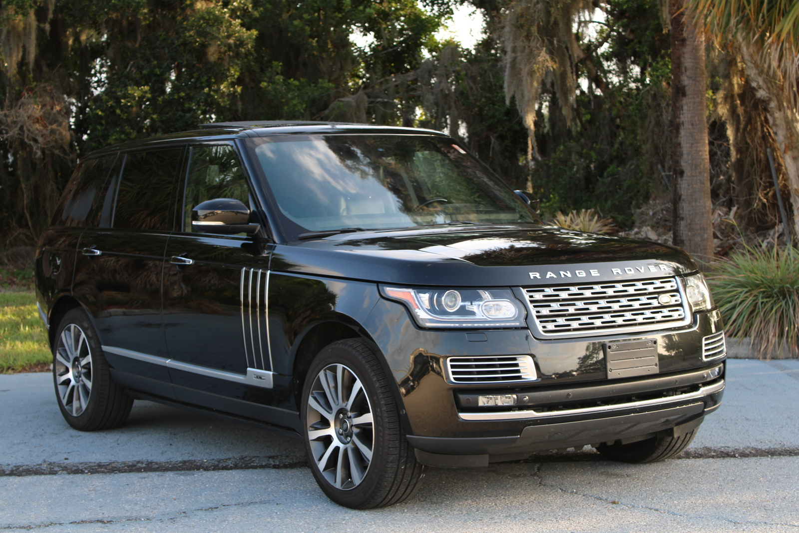 Certified Pre-Owned 2015 Land Rover Range Rover Autobiography Black